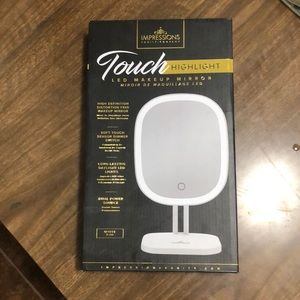 Touch LED Makeup Mirror